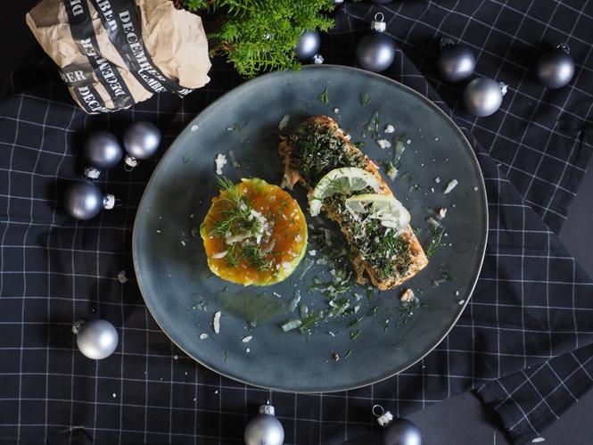 Vom Dill-Parmesan-Lachs und dem echtem Weihnachtsmann / Mo'Beads / Monika Thiede